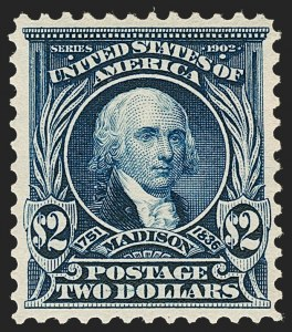Sale Number 1209, Lot Number 1226, 1902-08 Issues (Scott 300-320)$2.00 Dark Blue (312), $2.00 Dark Blue (312)