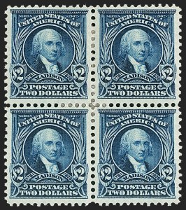 Sale Number 1209, Lot Number 1227, 1902-08 Issues (Scott 300-320)$2.00 Dark Blue (312), $2.00 Dark Blue (312)