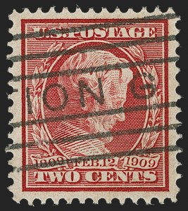 Sale Number 1209, Lot Number 1249, 1908-13 Washington-Franklin Issues (Scott 331-396)2c Lincoln, Bluish (369), 2c Lincoln, Bluish (369)