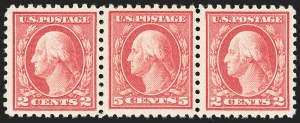 Sale Number 1209, Lot Number 1272, 1912-20 Washington-Franklin Issues (Scott 405-550)5c Carmine, Error (467), 5c Carmine, Error (467)