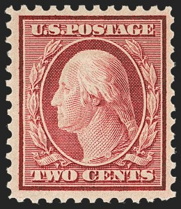 Sale Number 1209, Lot Number 1284, 1912-20 Washington-Franklin Issues (Scott 405-550)2c Carmine (519), 2c Carmine (519)