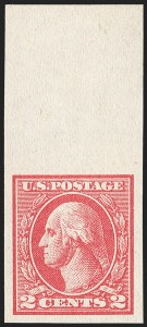Sale Number 1209, Lot Number 1294, 1912-20 Washington-Franklin Issues (Scott 405-550)2c Carmine, Ty. VII, Imperforate (534B), 2c Carmine, Ty. VII, Imperforate (534B)