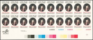Sale Number 1209, Lot Number 1309, Modern Errors15c John Paul Jones, Finished Design, Imperforate Pair (1789Pg), 15c John Paul Jones, Finished Design, Imperforate Pair (1789Pg)