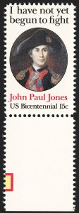 Sale Number 1209, Lot Number 1311, Modern Errors15c John Paul Jones, Perf 12 (1789B), 15c John Paul Jones, Perf 12 (1789B)
