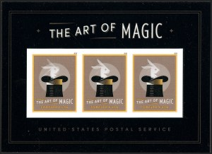 Sale Number 1209, Lot Number 1322, Modern ErrorsThe Art of Magic (Forever) Souvenir Sheet, Die Cutting Omitted (5306b), The Art of Magic (Forever) Souvenir Sheet, Die Cutting Omitted (5306b)