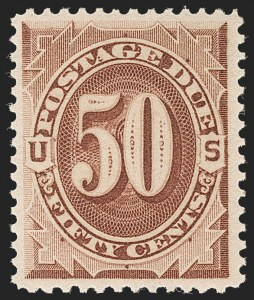 Sale Number 1209, Lot Number 1363, Special Delivery thru Offices in China50c Red Brown (J21), 50c Red Brown (J21)