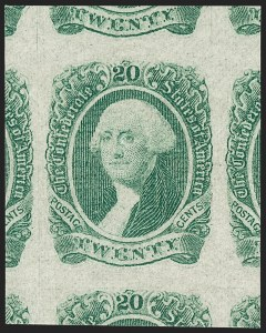 Sale Number 1209, Lot Number 1405, Confederate States20c Green (13), 20c Green (13)