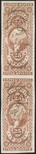 Sale Number 1209, Lot Number 1473, Revenues: First Issue Imperforate (R1a-R76a)25 Bond, Imperforate (R43a), 25 Bond, Imperforate (R43a)