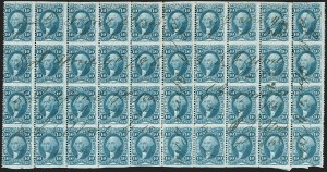 Sale Number 1209, Lot Number 1551, Revenues: First Issue Part Perforated10c Blue, Inland Exchange, Perf Perforated (R36b), 10c Blue, Inland Exchange, Perf Perforated (R36b)