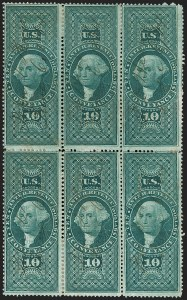 Sale Number 1209, Lot Number 1571, Revenues: First Issue Perforated$10 Conveyance, Perforated (R94c), $10 Conveyance, Perforated (R94c)