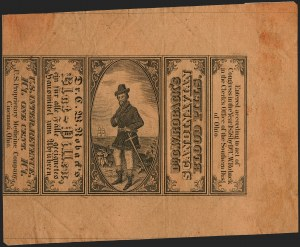 Sale Number 1209, Lot Number 1652, Revenues: Match & MedicineUnited States Proprietary Medicine Co., 1c Black on Orange, Wrapper (RS247a), United States Proprietary Medicine Co., 1c Black on Orange, Wrapper (RS247a)
