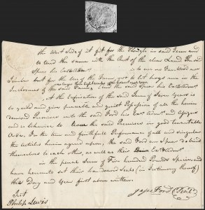 Sale Number 1210, Lot Number 2106, State Revenue Issues: Delaware, Virginia, Maryland20c Delaware (RM292; SRS DS5), 20c Delaware (RM292; SRS DS5)