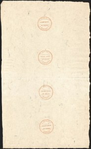 Sale Number 1210, Lot Number 2115, State Revenue Issues: Delaware, Virginia, Maryland30c Maryland (RM362), 30c Maryland (RM362)