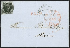 Sale Number 1211, Lot Number 121, 1847 Issue Used to and from Central America,