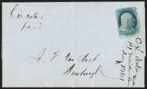 Sale Number 1211, Lot Number 164, 1851 Issue First Day Covers,
