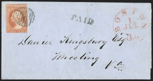 Sale Number 1211, Lot Number 165, 1851 Issue First Day Covers,