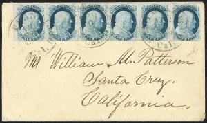 Sale Number 1211, Lot Number 308, 1857-60 1¢ to 90¢ Perforated Issues,