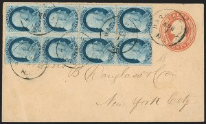 Sale Number 1211, Lot Number 309, 1857-60 1¢ to 90¢ Perforated Issues,