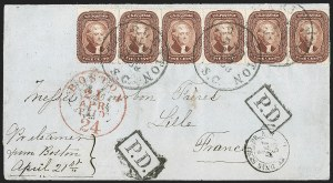 Sale Number 1211, Lot Number 314, 1857-60 1¢ to 90¢ Perforated Issues,