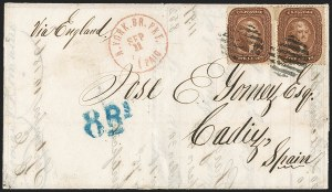 Sale Number 1211, Lot Number 317, 1857-60 1¢ to 90¢ Perforated Issues,