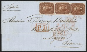 Sale Number 1211, Lot Number 318, 1857-60 1¢ to 90¢ Perforated Issues,