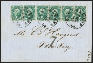 Sale Number 1211, Lot Number 323, 1857-60 1¢ to 90¢ Perforated Issues,