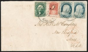 Sale Number 1211, Lot Number 348, Hawaiian Mails,