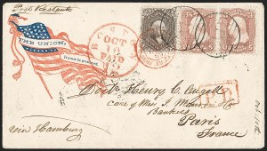 Sale Number 1211, Lot Number 378, Civil War Postal History,