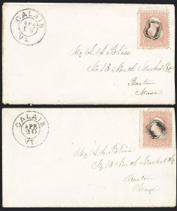 Sale Number 1211, Lot Number 477, Fancy Cancellations (other than Waterburys),