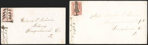 Sale Number 1211, Lot Number 490, Fancy Cancellations (other than Waterburys),