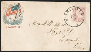 Sale Number 1211, Lot Number 496, 1861-1866 Issue,
