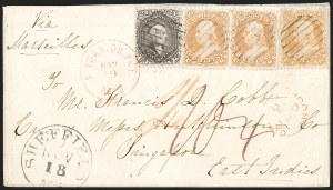 Sale Number 1211, Lot Number 504, 1861-1866 Issue,