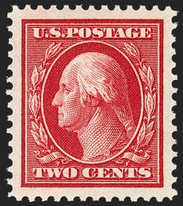 Sale Number 1212, Lot Number 100, 1910-13 Washington-Franklin Issues2c Carmine (375), 2c Carmine (375)