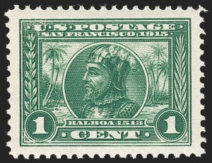 Sale Number 1212, Lot Number 108, 1913-15 Panama-Pacific Issue (Scott 397-404)1c Panama-Pacific (397), 1c Panama-Pacific (397)