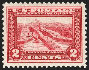Sale Number 1212, Lot Number 109, 1913-15 Panama-Pacific Issue (Scott 397-404)2c Panama-Pacific (398), 2c Panama-Pacific (398)