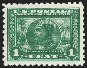 Sale Number 1212, Lot Number 117, 1913-15 Panama-Pacific Issue (Scott 397-404)1c Panama-Pacific, Perf 10 (401), 1c Panama-Pacific, Perf 10 (401)