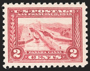 Sale Number 1212, Lot Number 120, 1913-15 Panama-Pacific Issue (Scott 397-404)2c Panama-Pacific, Perf 10 (402), 2c Panama-Pacific, Perf 10 (402)