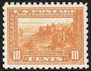 Sale Number 1212, Lot Number 124, 1913-15 Panama-Pacific Issue (Scott 397-404)10c Panama-Pacific, Perf 10 (404), 10c Panama-Pacific, Perf 10 (404)