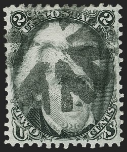 Sale Number 1212, Lot Number 20, 1861-88 Issues2c Black, Z. Grill (85B), 2c Black, Z. Grill (85B)