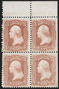 Sale Number 1212, Lot Number 21, 1861-88 Issues3c Red, F. Grill (94), 3c Red, F. Grill (94)