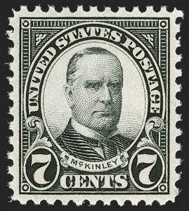 Sale Number 1212, Lot Number 228, 1923-27 Issues7c Black (639), 7c Black (639)