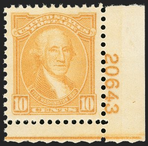 Sale Number 1212, Lot Number 264, 1927 and Later Issues, cont.10c Washington Bicentennial (715), 10c Washington Bicentennial (715)
