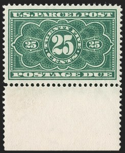 Sale Number 1212, Lot Number 342, Other Back-of-Book25c Dark Green, Parcel Post Postage Due (JQ5), 25c Dark Green, Parcel Post Postage Due (JQ5)