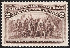 Sale Number 1212, Lot Number 35, 1893 Columbian Issue2c Columbian (231), 2c Columbian (231)
