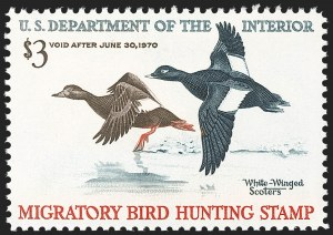 Sale Number 1212, Lot Number 365, Hunting Permits$3.00 1969 Hunting Permit (RW36), $3.00 1969 Hunting Permit (RW36)