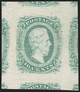 Sale Number 1212, Lot Number 377, Confederate States10c Greenish Blue, Die A (11c), 10c Greenish Blue, Die A (11c)