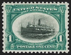 Sale Number 1212, Lot Number 48, 1894-98 Issues, Pan-American Issue1c Pan-American (294), 1c Pan-American (294)