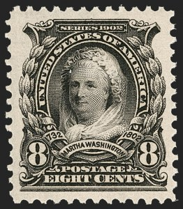 Sale Number 1212, Lot Number 58, 1902-08 Issues8c Violet Black (306), 8c Violet Black (306)