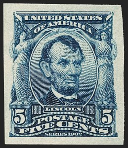Sale Number 1212, Lot Number 64, 1902-08 Issues5c Blue, Imperforate (315), 5c Blue, Imperforate (315)