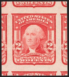 Sale Number 1212, Lot Number 71, 1902-08 Issues2c Scarlet, Ty. I, Imperforate (320b), 2c Scarlet, Ty. I, Imperforate (320b)
